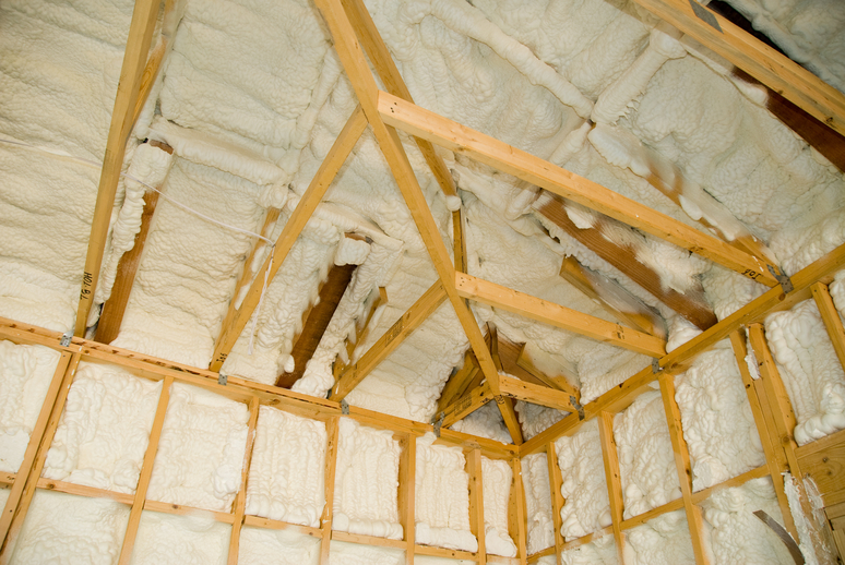 Why We Don't Recommend Spray Foam Insulation